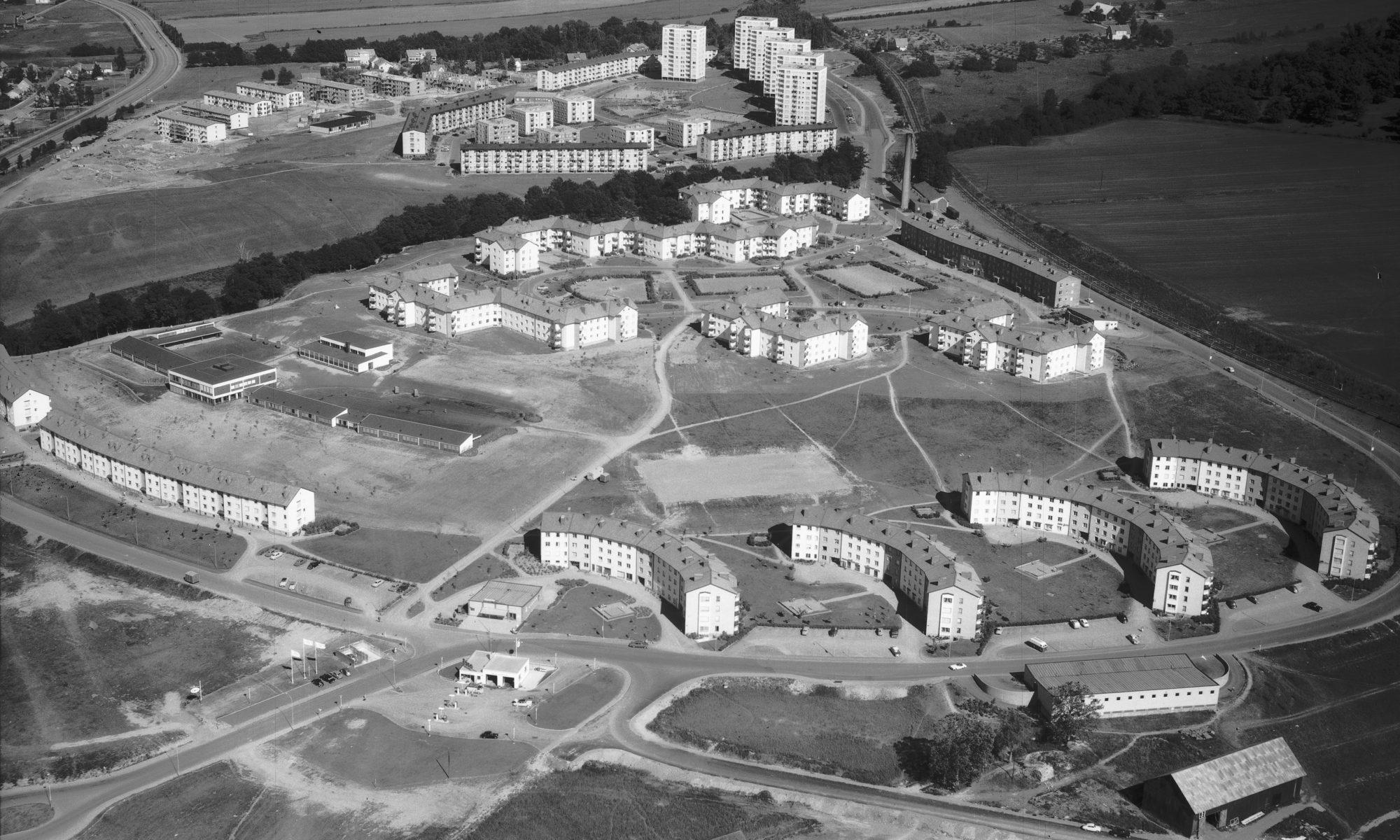 Österängen 1959. Bildnummer JM.2001-5-1508