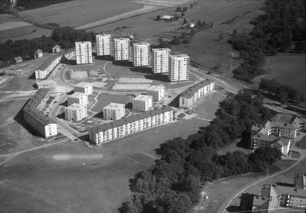 Österängen 1959. Bildnummer JM.2001-5-1509