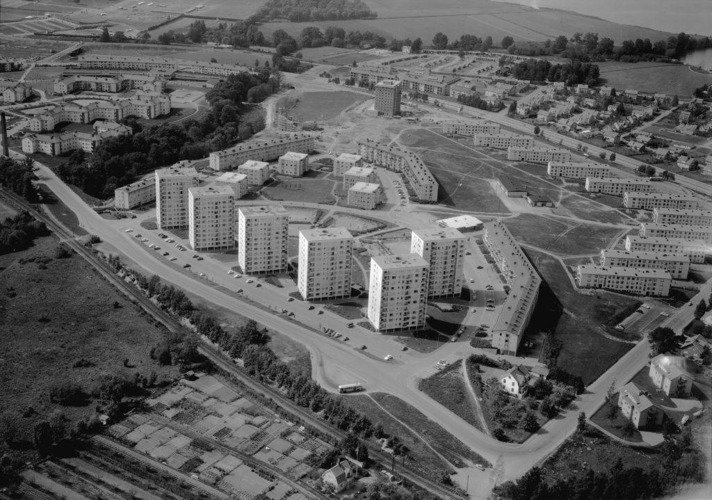 Österängen 1961. Bildnummer JM.2001-5-1639 Kv. Venusskon - Uppförd mellan 1957-58