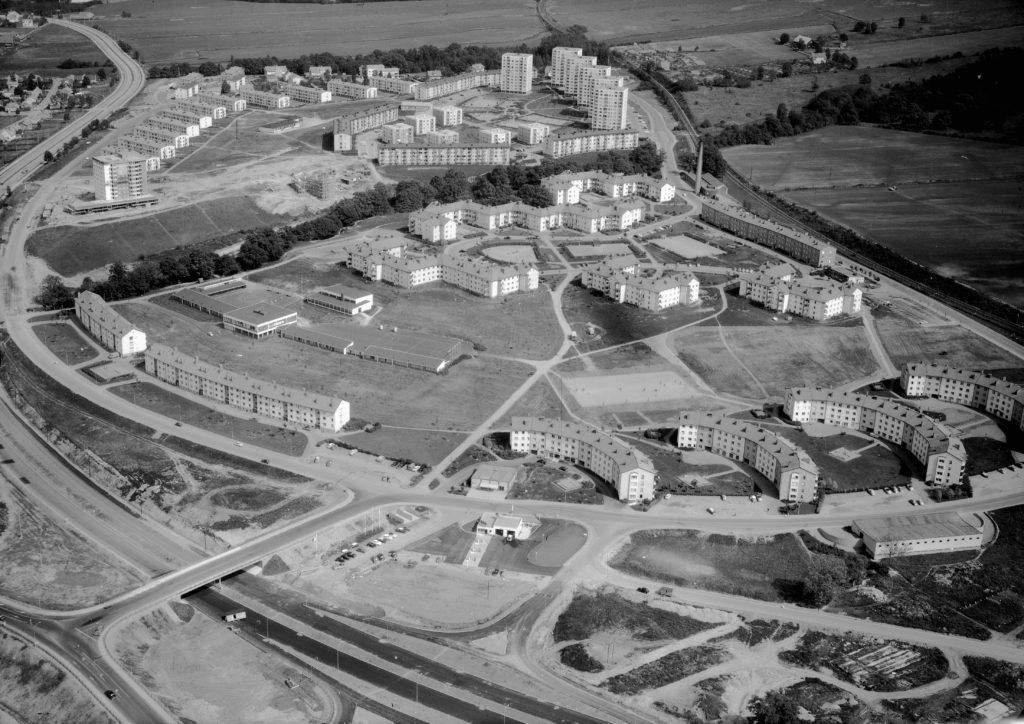 Österängen 1961. Bildnummer JM.2001-5-1640