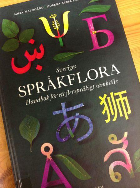 Omslag till boken Sveriges språkflora