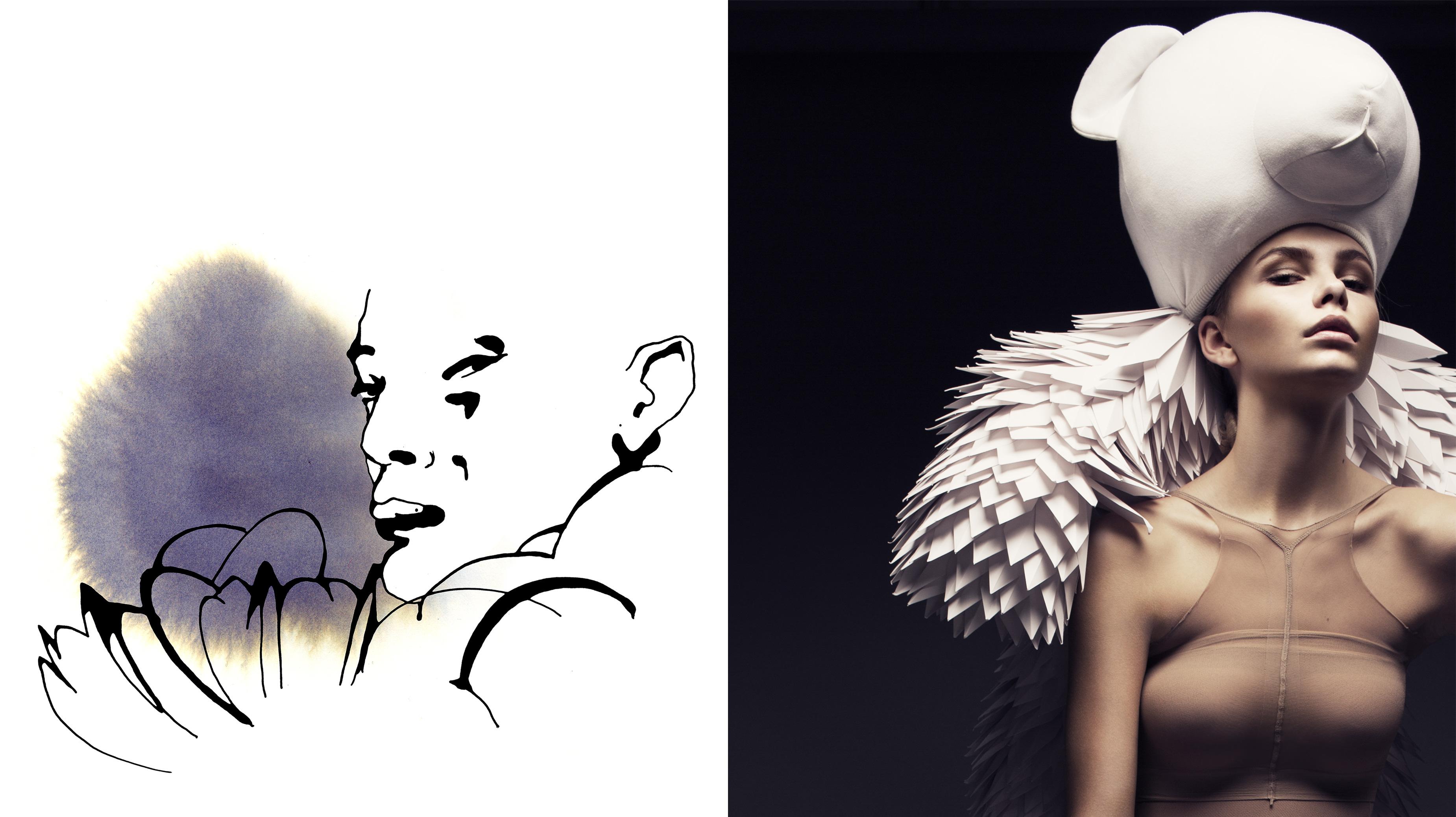 Två konstverk av Stina Wirsén och Bea Szenfeld